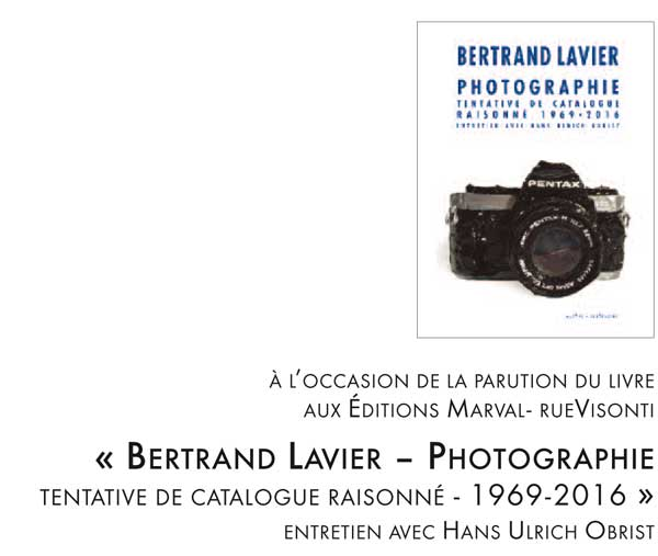 Catalogue raisonné de Bertrand Lavier